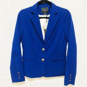 Iris Basic Cobalt Blue Blazer Jacket NWT
